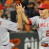 Albert Pujols and Mike Trout