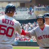 Mookie Betts and Dustin Pedroia