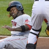 Hanley Ramirez and a butt