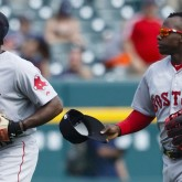 Jackie Bradley and Rusney Castillo