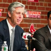 Dave Dombrowski and Mike Hazen