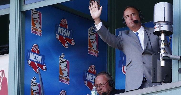 Jerry Remy and Don Orsillo