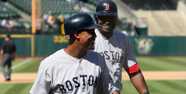 Adrian Beltre and David Ortiz