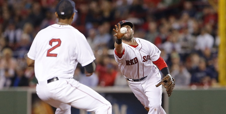 Xander Bogaerts and Dustin Pedroia