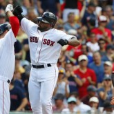 MLB: Arizona Diamondbacks at Boston Red Sox