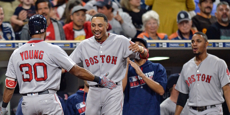 Young, Betts, Bogaerts